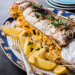 Fish Stuffed With Couscous recipe