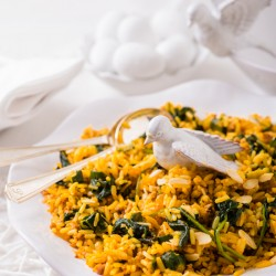 Lemony Spicy Rice recipe