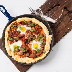 Tasty Vegetable & Eggs recipe