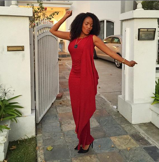 Terry Pheto S Fashionable Moments