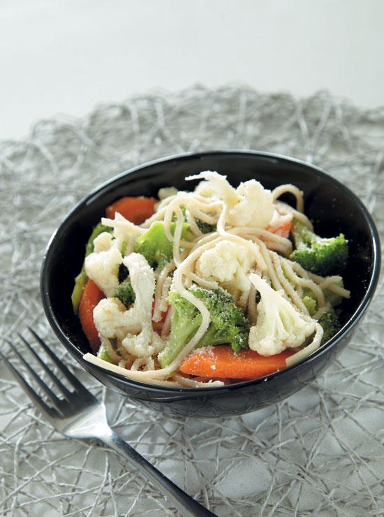 Broccoli And Cauliflower Primavera recipe