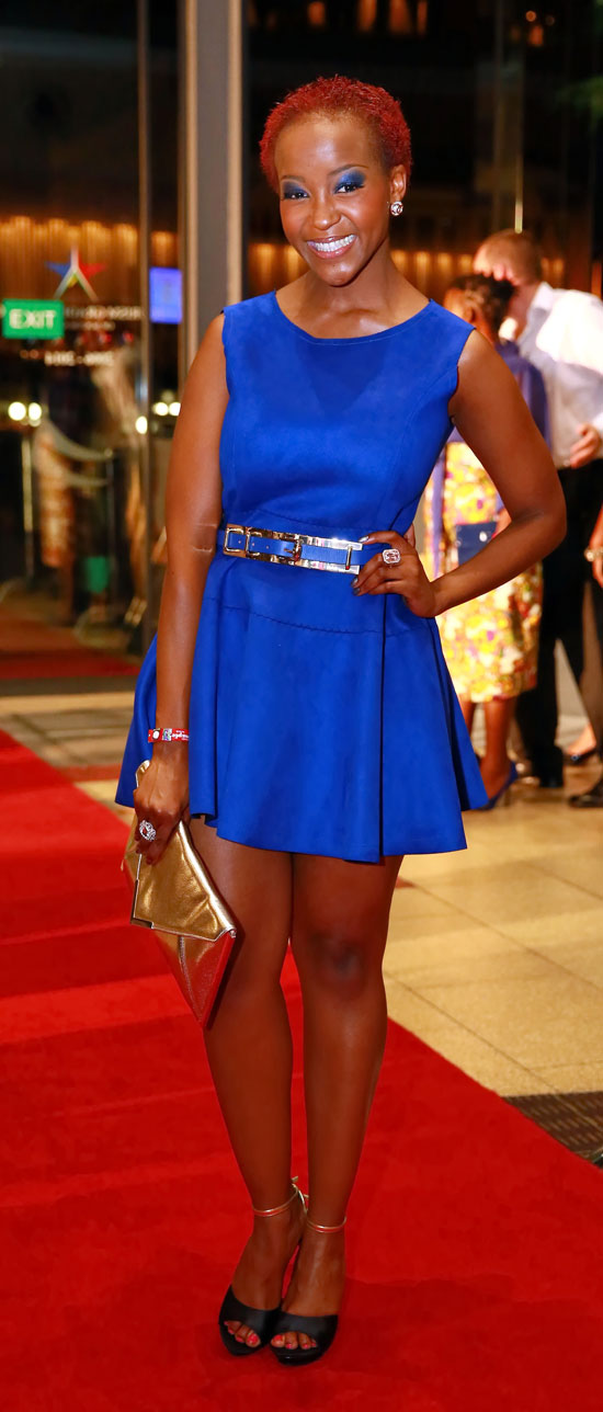 Celeb Spotting And Fashion Flops At The Royalty Soapie Awards