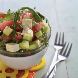 Watermelon, Rocket And Feta Salad recipe