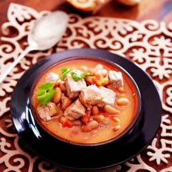 Beef And Beans Soup recipe