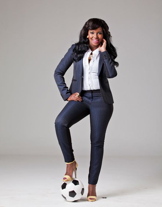 Video Behind The Scenes With Carol Tshabalala