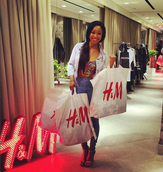 Minnie Dlamini In Nyc