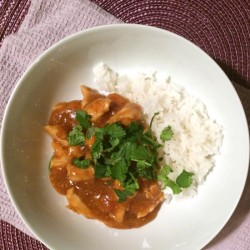 Peanut Butter Sweet Chili Chicken recipe