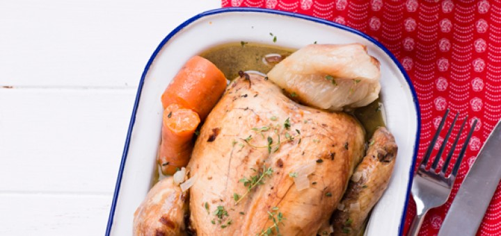 Boiled Chicken With Vegetables - Bona