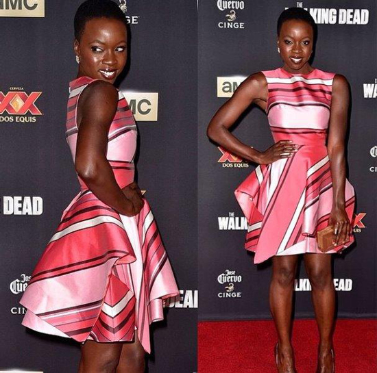Get Danai Gurira's Glowing AMA's Look
