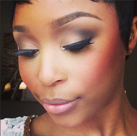 Minnie Dlamini's Lip Tutorial