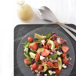 Spring green salad recipe