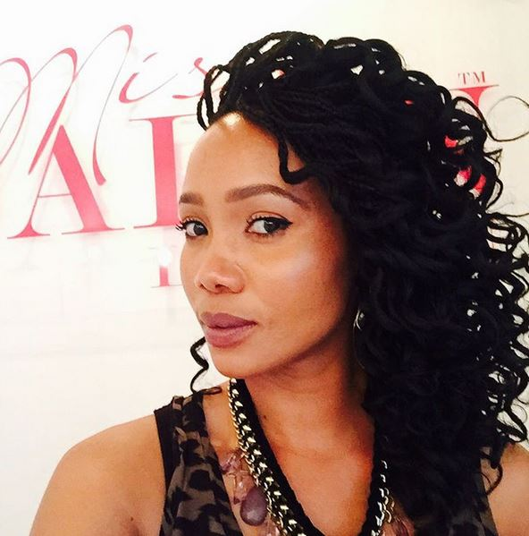 We Just Adore Azania S Curly Hairdo