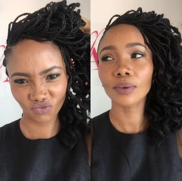 We Just Adore Azania S Curly Hairdo Bona Magazine