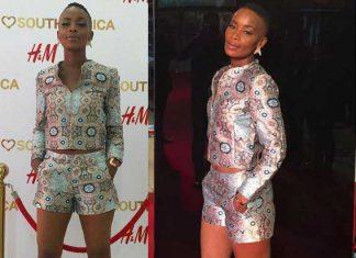 Bonnie Mbuli slays in printed short suit