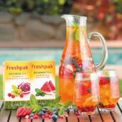 Refreshing Rooibos ice tea