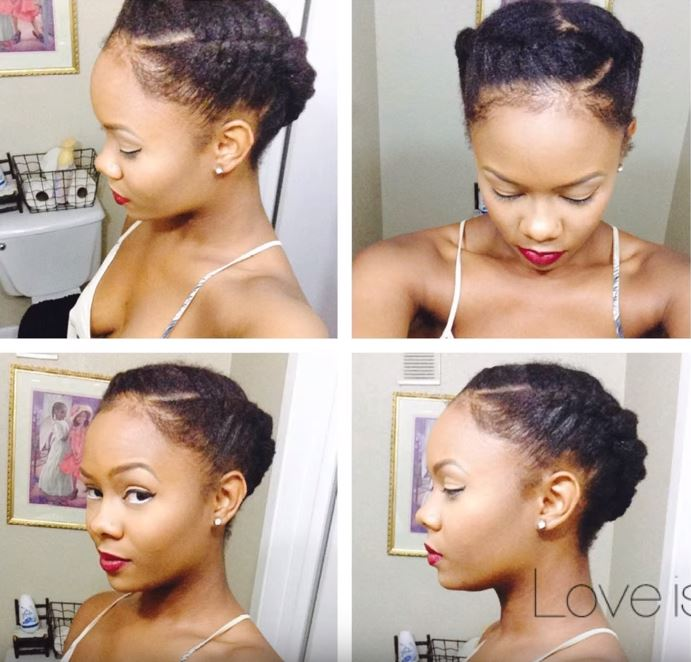 How To Pull Off 3 Quick And Easy Hairstyles On Your Afro By Yourself