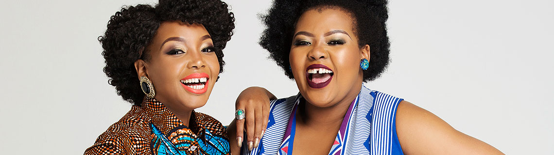 Dance moves, celebrity crushes & more. Anele & Thembisa Mdoda talk about their fave things.