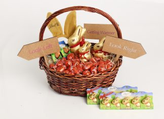 Win this incredible Lindt chocolate hamper for Easter