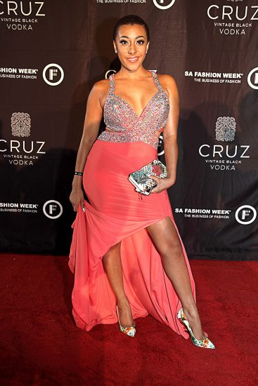 Celeb Fashion At The Sa Fashion Week Opening Party Bona