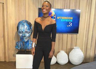 #OOTD Bonnie Mbuli in a black jumpsuit