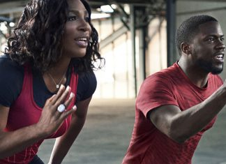 Kevin Hart and Serena Williams workout together and it's hilarious