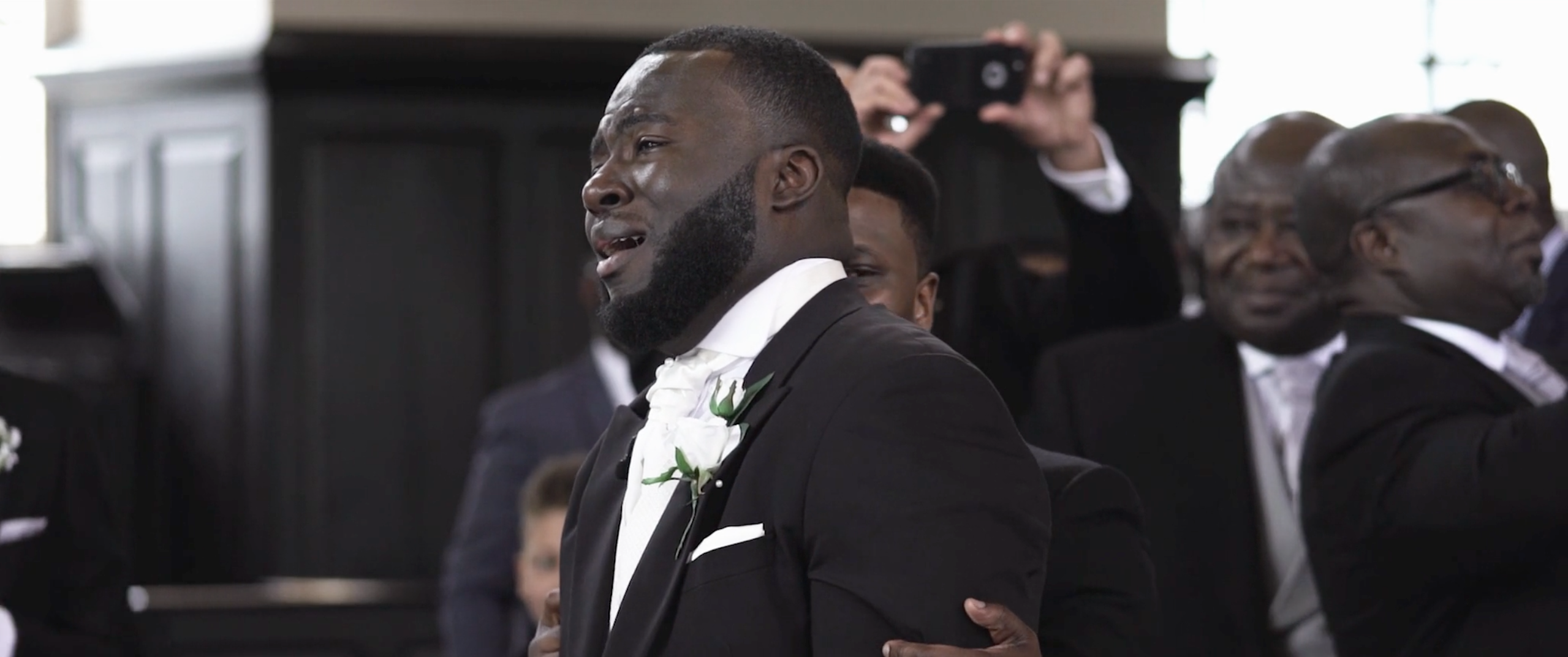 This Video Of A Crying And Emotional Groom Still Warms Our