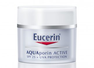 Beauty Review – Eucerin AQUAporin ACTIVE Moisturising Cream