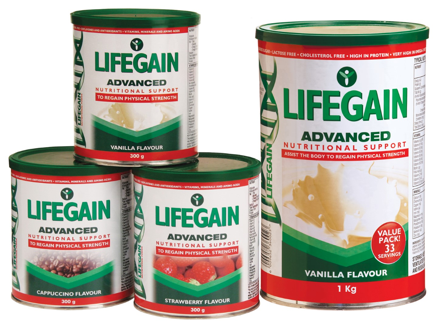 Win 1 of 5 Lifegain hampers valued at R505