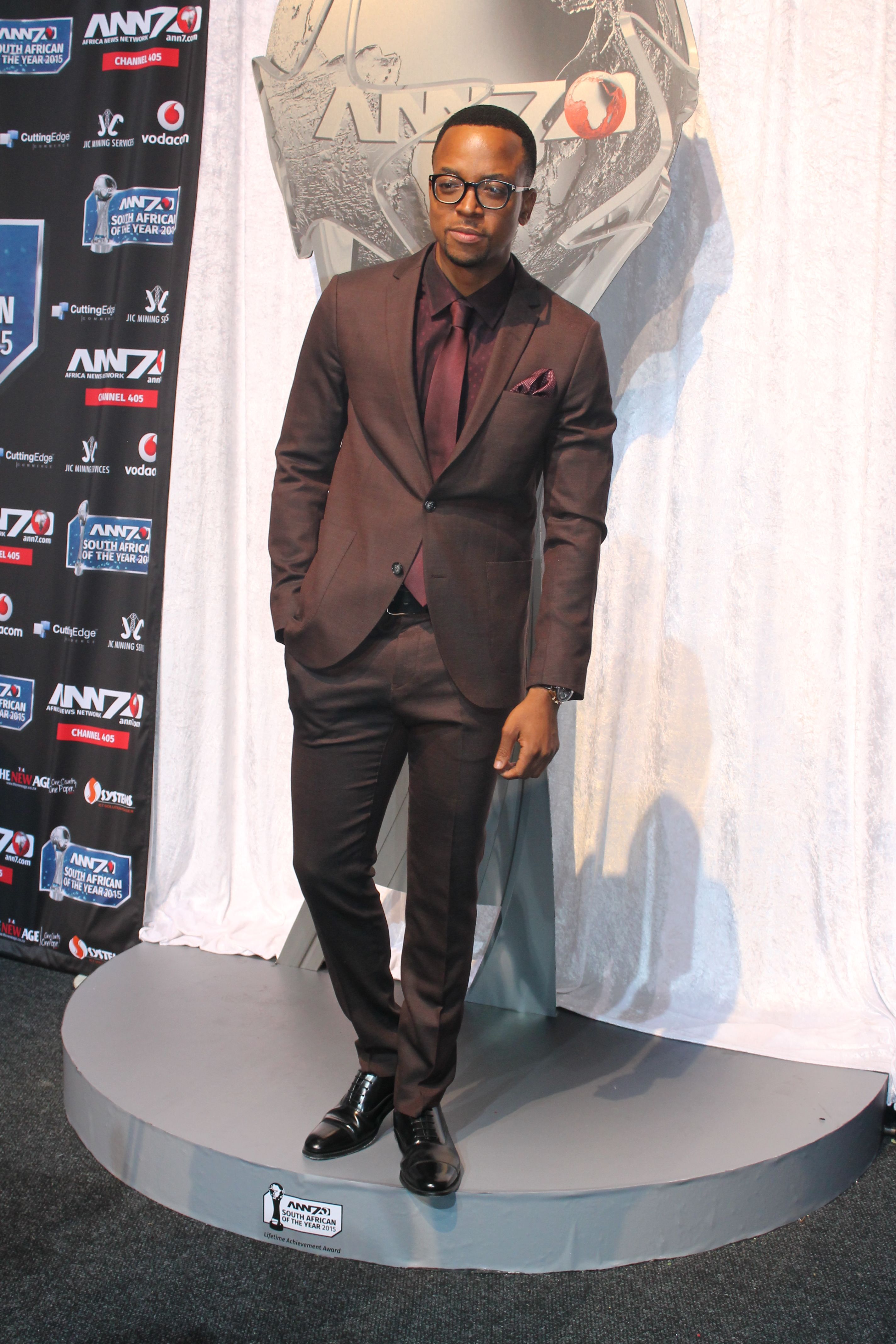 the best mens fashion at the south african of the year awards