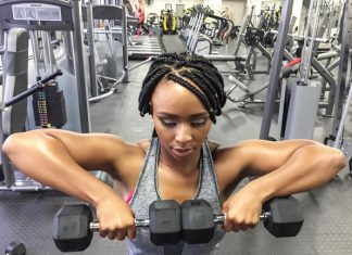 This is how Boity gets her incredible body