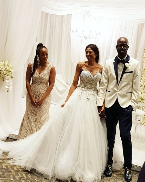 Watch Get A Sneak K Inside The Black Coffee And Mbali Wedding Bona Magazine