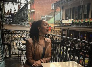 Minnie Dlamini works and plays hard in the US