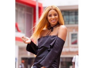#OOTD Jessica Nkosi takes our breath away in all-black