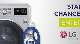 Win a LG 2.0 Titan washing machine worth R6 999, plus three months' supply of OMO Auto!