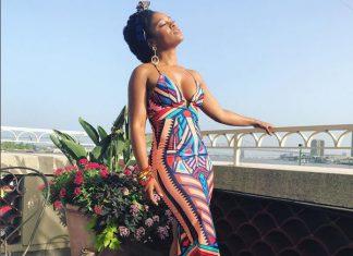 Nomzamo Mbatha slays the Essence Festival