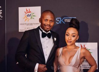 Thando Thabethe is engaged!