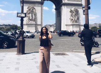 Ayanda Thabethe works and plays in Paris