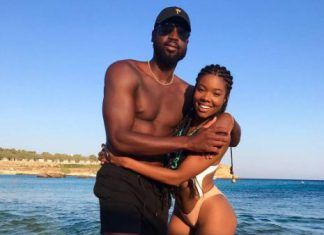 Gabrielle Union and Dwyane Wade #baecation ahead of their anniversary