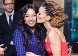 DJ Zinhle and Pearl Thusi are #FriendshipGoals
