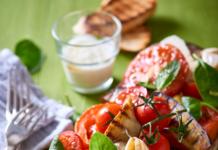 Garlic Tomato and Brinjal Salad