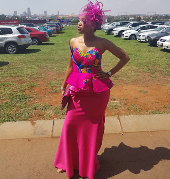 Liteboho Molise at Charity Mile event