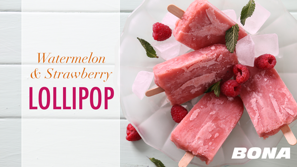 how to make strawberry lollipops