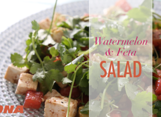WATCH: Watermelon and feta salad recipe
