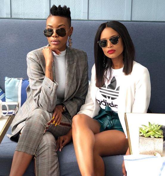 Ayanda Thabethe and Lootlove