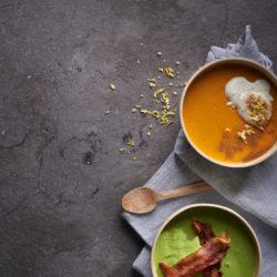 Orange flavoured butternut Soup
