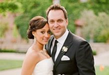 Tamera Mowry and Adam Housley