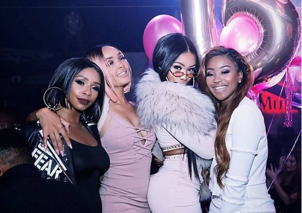 Media Personality Bonang Matheba Kicked Off Her 31st Birthday Celebrations This Past Weekend The Star And Famous Friends Including Boity Lorna