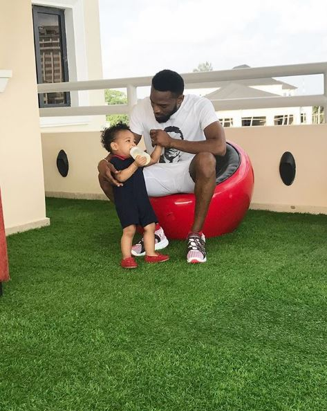 Nigerian singer D'banj opens up about his son's death and thanks fans for their support