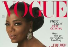 Oprah British Vogue August Issue