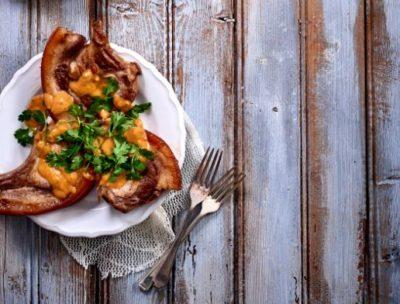 Pork Chops inCurry Sauce